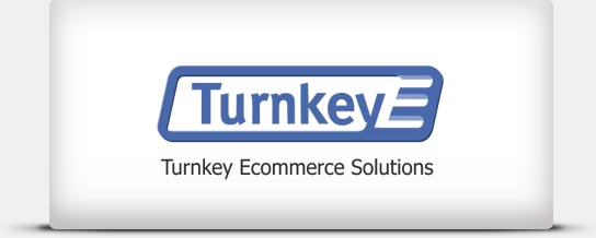 Turnkey Ecommerce Solutions Turnkey Ecommerce Solutions (Turnkey E) is a full service Internet solution agency and custom development company with strong team of IT eCommerce professionals.